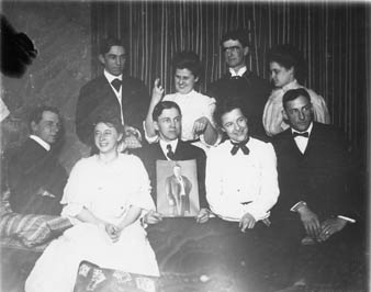 Eugenia Allin, Students, and Faculty