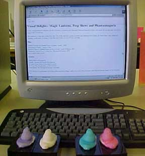 photo of Peeps using the internet