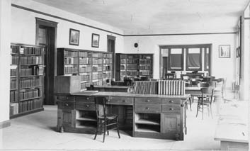 Millikin's first library